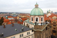 Architecture Patchwork of Prague royalty free stock images