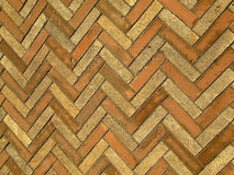 Architecture pattern. Skew brick architecture pattern royalty free stock photos