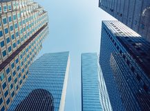 Architecture perspective Building sky scraper Business backgroun Royalty Free Stock Photos