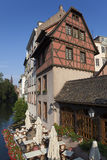 Architecture of the Petite france, Strasbourg Royalty Free Stock Images