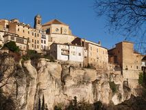 Architecture photos from Cuenca, Spain Royalty Free Stock Photography