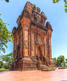 Architecture in Phu Yen Champa Tower Stock Image