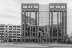 Architecture Picture of a business building in Regensburg Stock Image