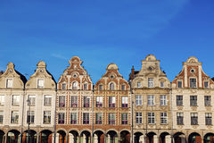 Architecture of Place des Heros in Arras Stock Photos