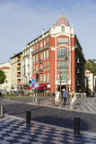Architecture of Place Massena in Nice Stock Photography