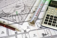 Architecture plan Stock Images