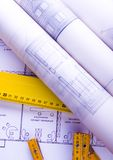 Architecture plan Royalty Free Stock Image