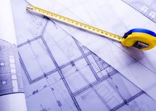 Architecture plan Stock Photos