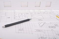 Architecture plan Royalty Free Stock Photo