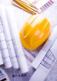 Architecture planning royalty free stock image