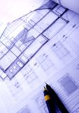 Architecture planning Stock Image