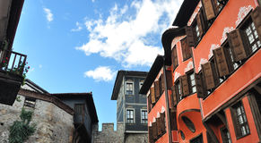 ARCHITECTURE  PLOVDIV Royalty Free Stock Photo