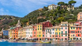 Architecture of Portofino, Italy Royalty Free Stock Photography