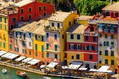 Architecture of Portofino, Italy Stock Photos