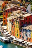 Architecture of Portofino, Italy Royalty Free Stock Photos