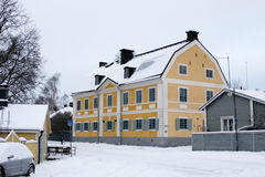 Architecture of Porvoo Royalty Free Stock Images