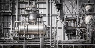 Powerhouse pipe system Royalty Free Stock Photography