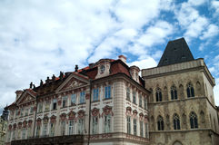 Architecture of Prague Royalty Free Stock Photography