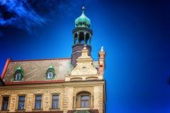 Architecture of Prague Stock Image