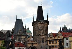 Architecture in Prague, Czech Republic, Europe Royalty Free Stock Photo