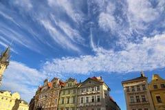 Architecture of Prague, Czech Republic Stock Image