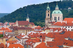 Architecture in Prague, Mala Strana. Stock Photography
