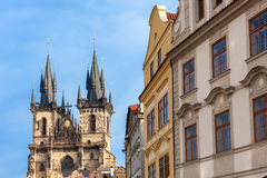 Architecture of Prague. Royalty Free Stock Image