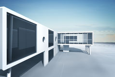 Architecture project Stock Photography
