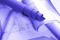 Architecture project Stock Images