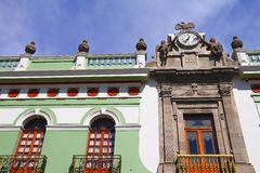 Architecture of puebla VI Stock Photography