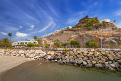 Architecture of Puerto Rico of Gran Canaria Royalty Free Stock Image