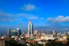 Architecture in Qingdao. Surrounding buildings in Zhongshan Road, Qingdao Stock Images