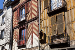 Architecture of Rennes. Britanny, France Royalty Free Stock Image