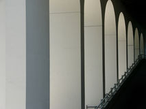 Architecture - Repetition. Repetition pattern of modern building architecture Stock Photography