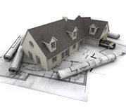 Architecture residential Royalty Free Stock Image