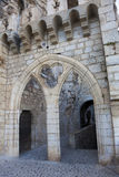 Architecture of Rocamadour Stock Photography