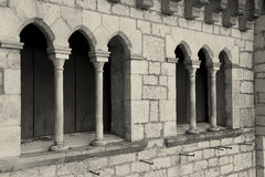 Architecture of Rocamadour Royalty Free Stock Image