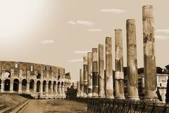Architecture romaine Photos stock