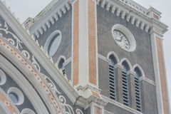 Architecture of The Roman Catholic Diocese. Stock Photo
