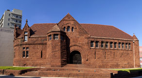 Architecture: Romanesque Revival (1890) Stock Photography