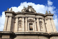 Architecture in Rome Royalty Free Stock Photography