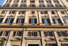 Architecture in Rome Royalty Free Stock Images