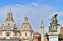 Architecture of Rome Royalty Free Stock Photography