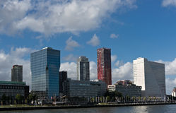 Architecture of Rotterdam Royalty Free Stock Photo