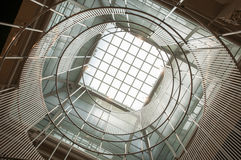 Architecture with round window Stock Photography