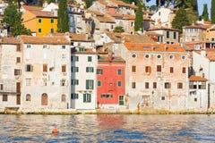 Architecture of Rovinj, Croatia. Istria touristic attraction Royalty Free Stock Photo