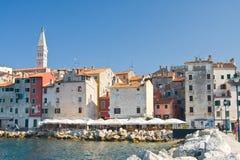 Architecture of Rovinj, Croatia. Stock Photos