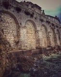 Architecture of Rovinj, Croatia Stock Images