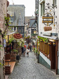 Architecture of Rudesheim, Germany Stock Photography