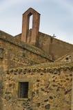 Architecture of Saint Efisio church, island of Sardinia, Italy Royalty Free Stock Photography